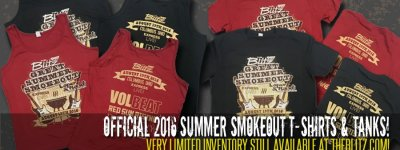 Official 2016 Summer Smokeout T's and Tanks!