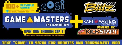 COSI Game Masters: The Exhibition