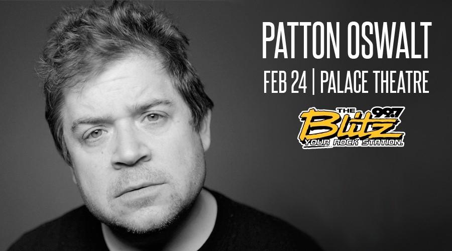 Win Tix to See Patton Oswalt