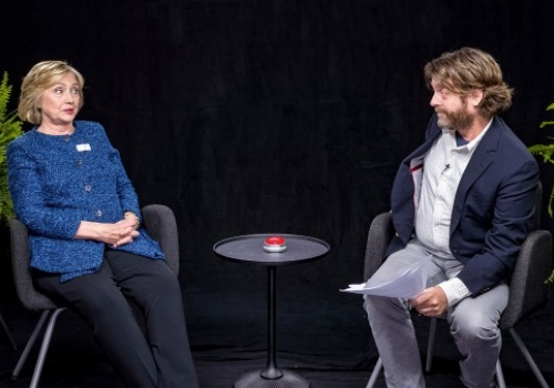 Between Two Ferns With Zach Galifianakis featuring Hillary Clinton