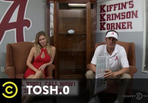 Tosh.0 Drops an Absolutely Merciless Installment of Kiffin's Krimson Korner (Video)