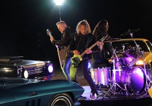 No Big Deal, Just Behind the Scenes Metallica Pictures!