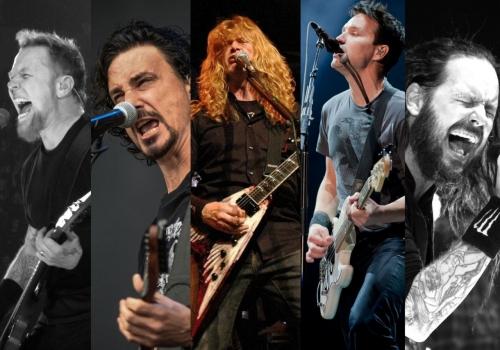 2017 Grammy Nominees For Rock & Metal