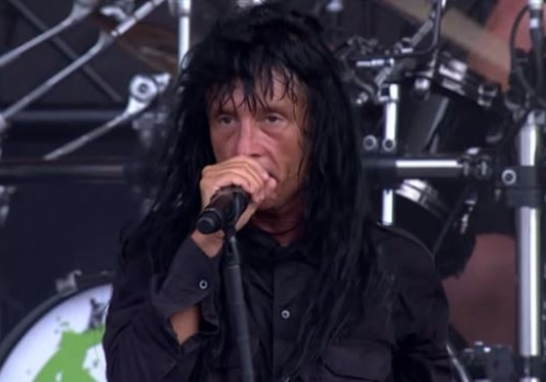 Check Out the Singer of Anthrax Rocking the National Anthem!