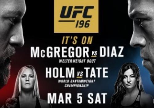 ICYMI - Conor McGregor Will Fight Nate Diaz at UFC 196