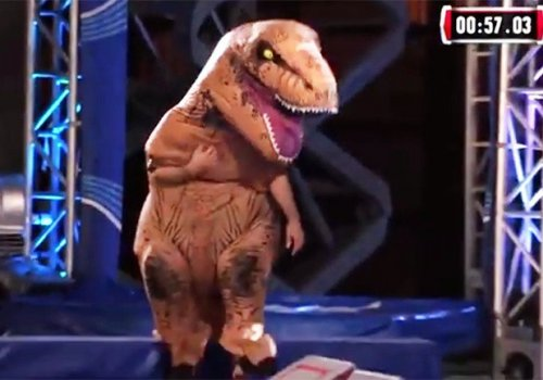 That T-Rex Has Some Moves!